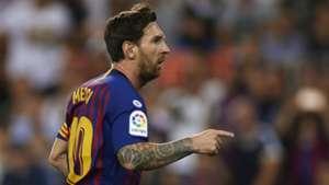 Lionel Messi Barcelona Valencia La Liga 07102018