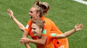 Vivianne Miedema Jill Roord Netherlands World Cup
