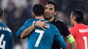 Buffon Cristiano Ronaldo Juventus Real Madrid Champions League