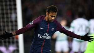 Neymar PSG Celtic Champions League 22112017