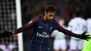 Neymar PSG Celtic Champions League 22112017