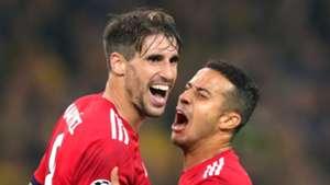 Javi Martinez, Thiago Alcantara, Bayern Munich