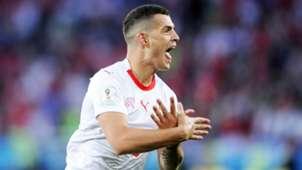 Granit Xhaka Switzerland 2018 World Cup