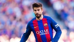 Gerard Piqué Barcelona Villarreal La Liga 05062017