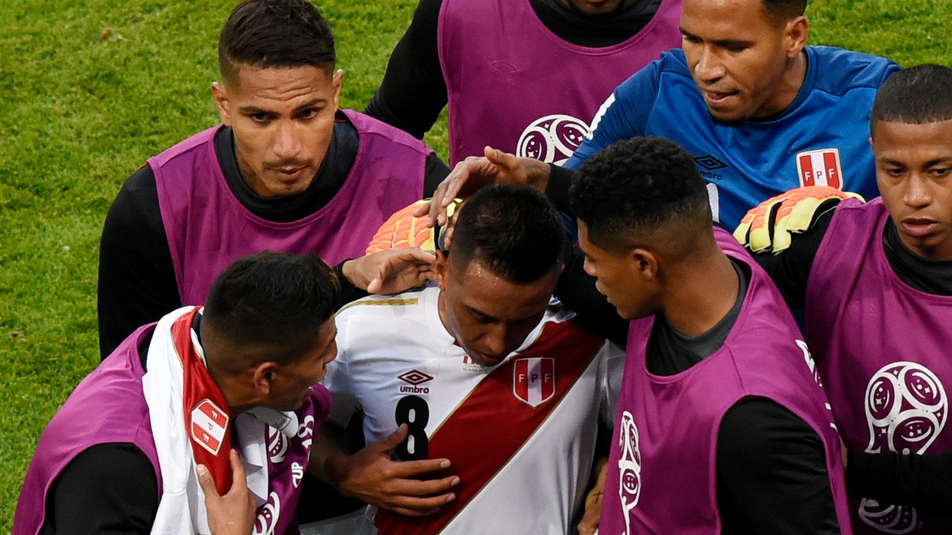 Cristian Cueva Selección peruana 160618