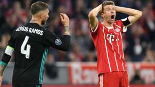 Thomas Muller Bayern Munchen Real Madrid Champions League 25042018