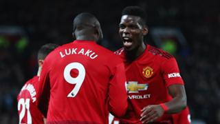 Pogba Lukaku Man United 2018-19