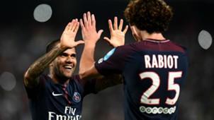 Daniel Alves Adrien Rabiot Monaco PSG Trophee des Champions 29072017