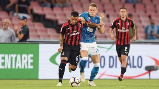 SSC Neapel AC Mailand Zielinski Suso 25082018