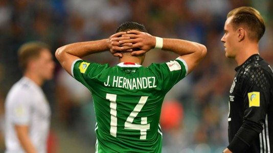 Chicharito Mexico Germany
