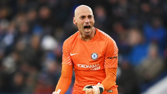 Willy Caballero Chelsea 2017-18