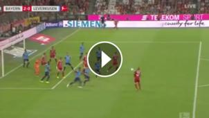 play asistencia Vidal. Bayern Munich Bayer Leverkusen 18082017