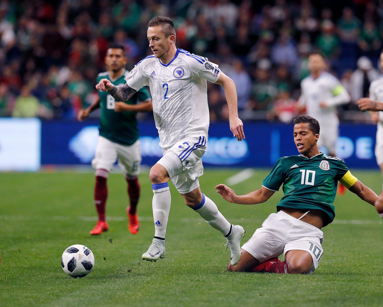 México vs Bosnia 2018