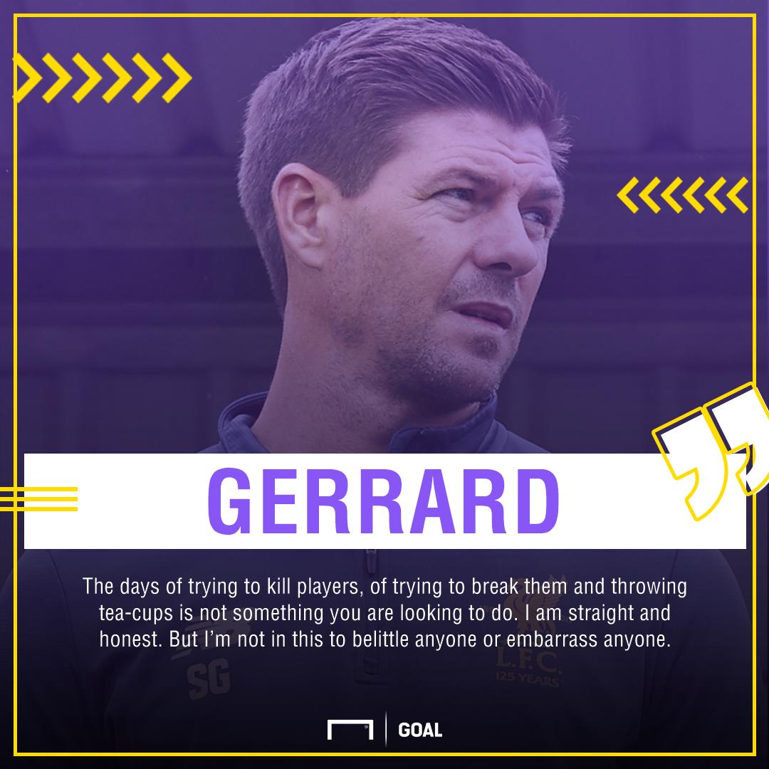 GFX Steven Gerrard quote