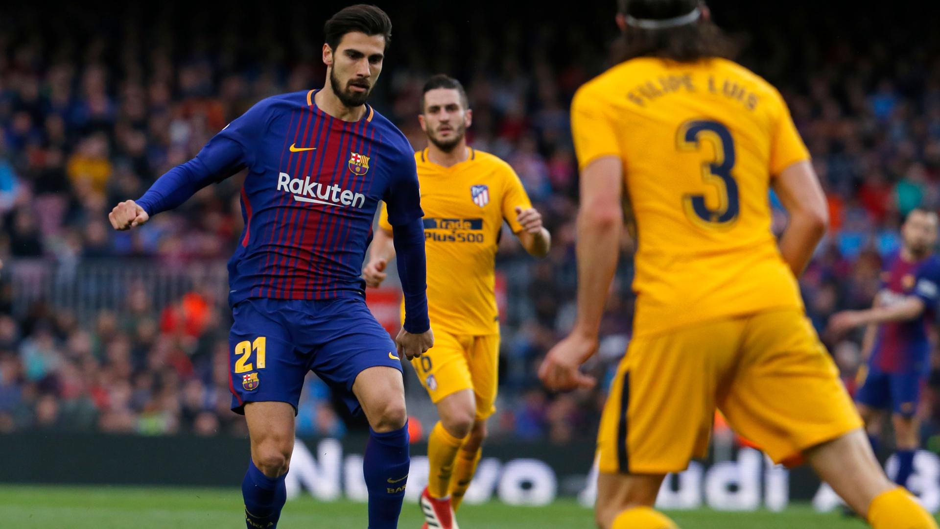 FC Barcelona Andre Gomes 04032018