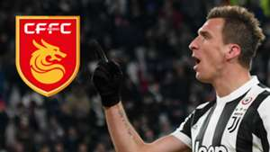 Mario Mandzukic China Hebei Fortune