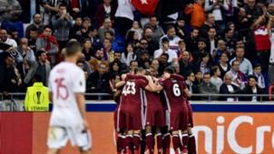 Ryan Babel Lyon Besiktas UEFA Europa League 13042017