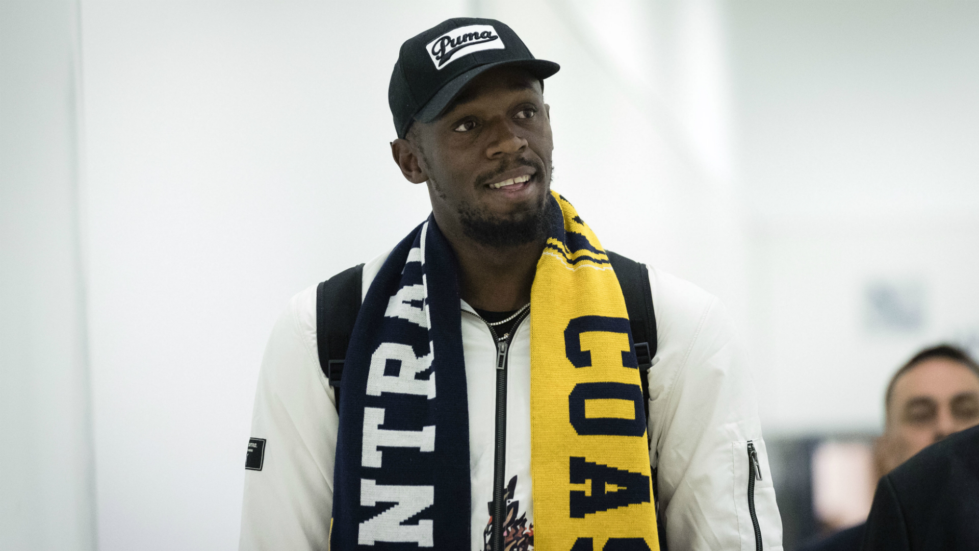 Bolt arrives in Sydney for A-League trial