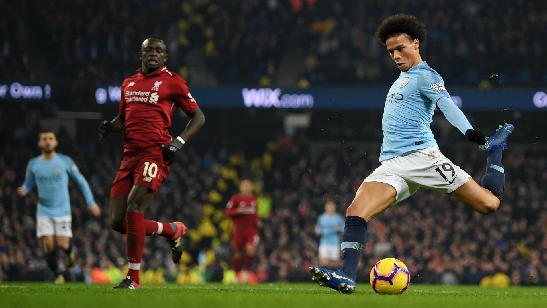 Leroy Sane Manchester City Liverpool