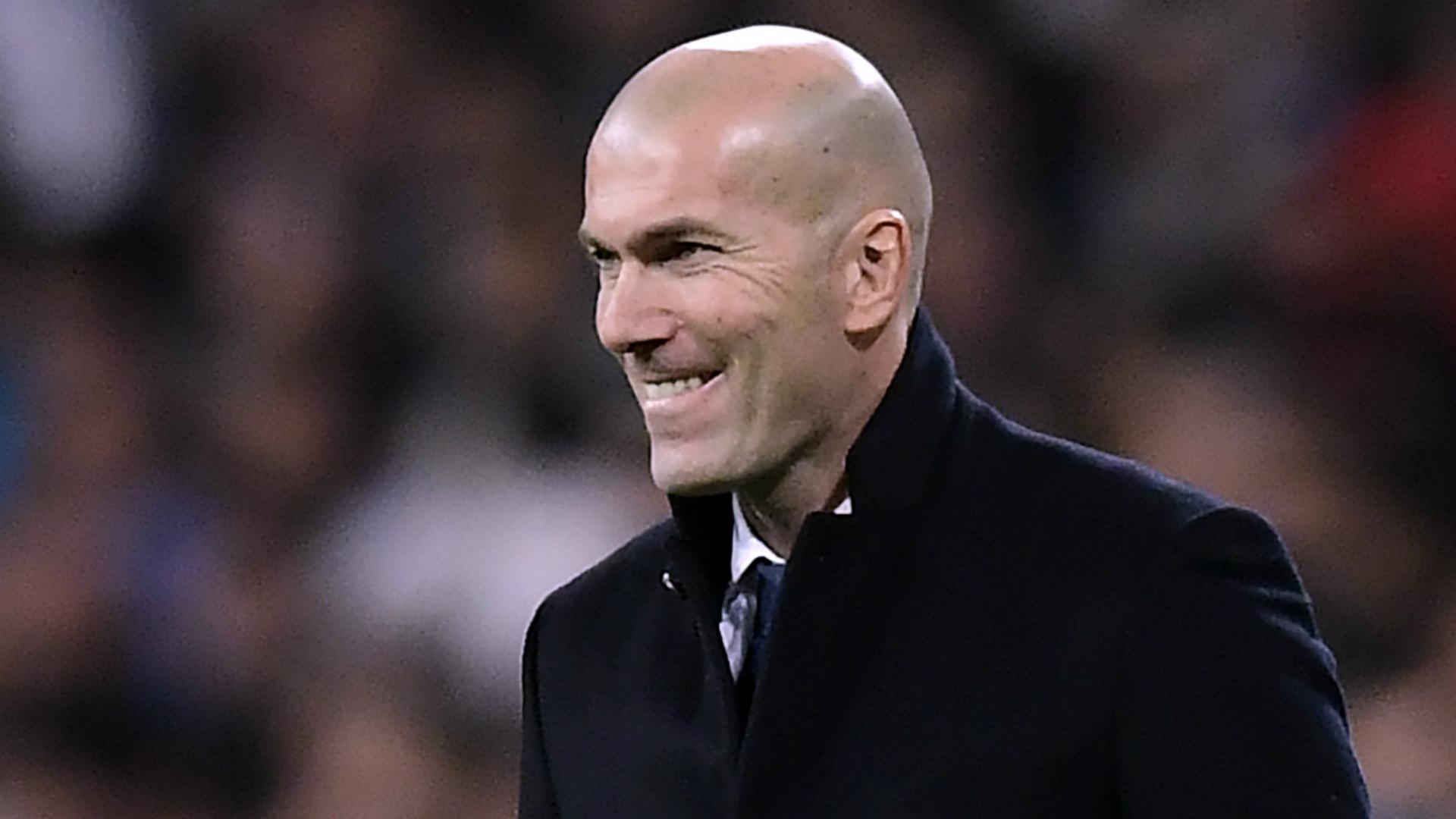 Zinedine Zidane Real Madrid Napoli
