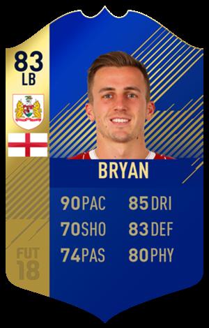 FIFA 18 EFL Team of the Season Bryan