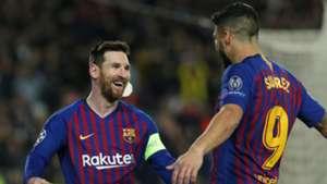 Lionel Messi, Luis Suarez, Barcelona