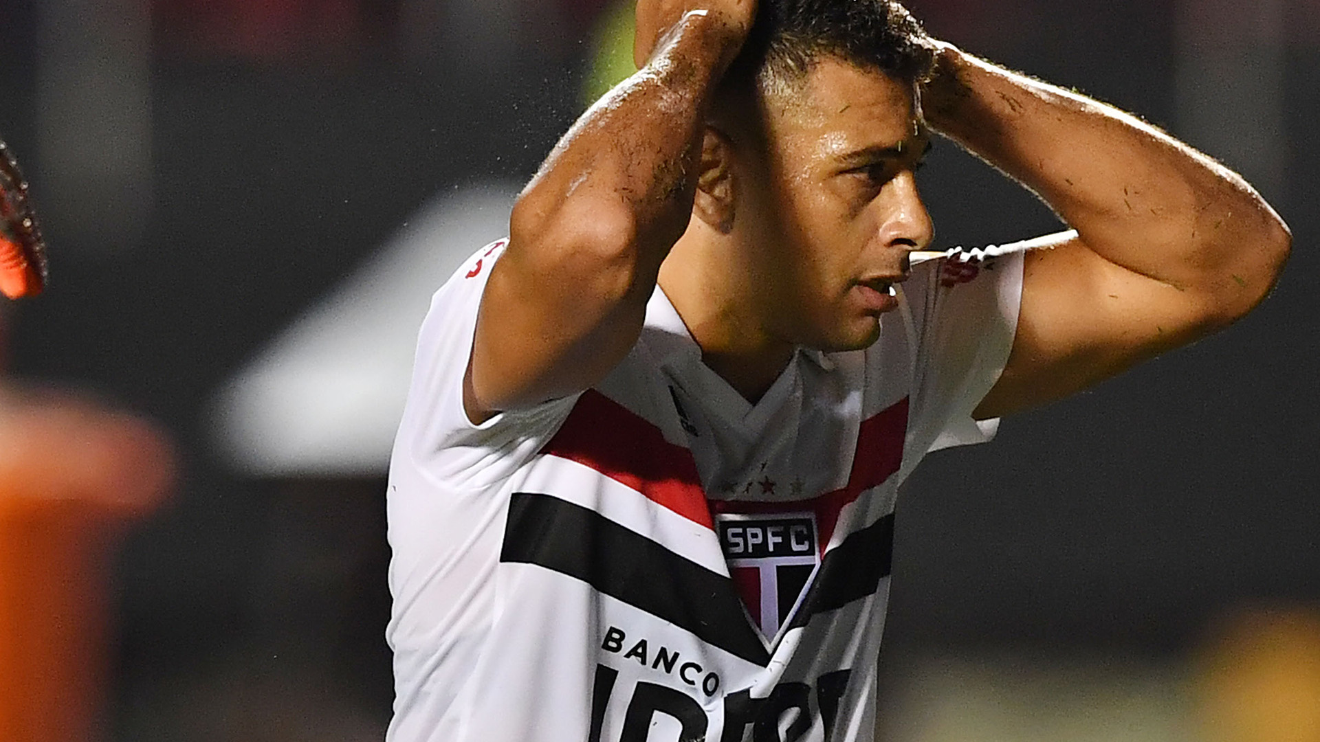 Diego Souza São Paulo Talleres Copa Libertadores 13022019