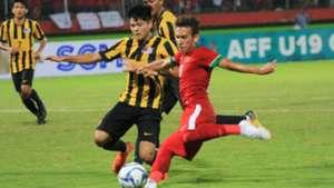 Malaysia vs Indonesia AFF U19 (12/7/2018)