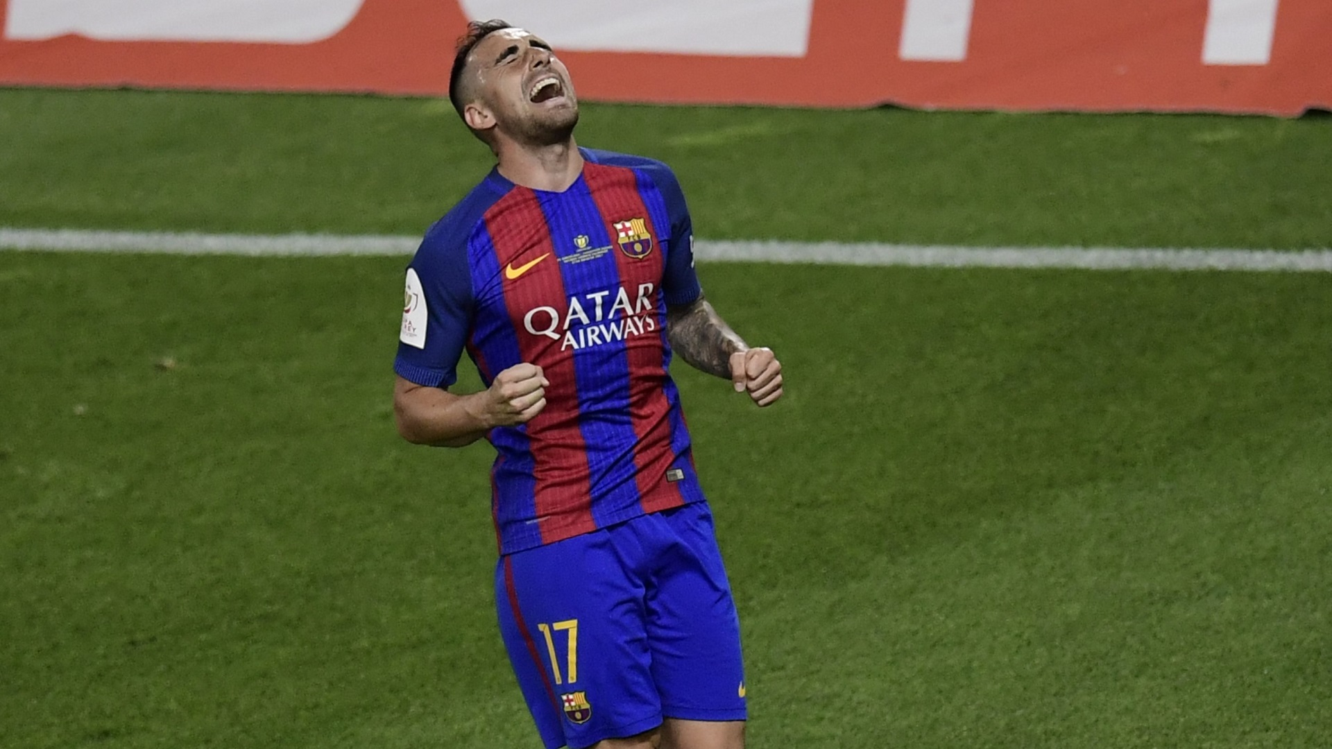 Paco Alcacer Barcelona Alaves Copa del Rey 27052017