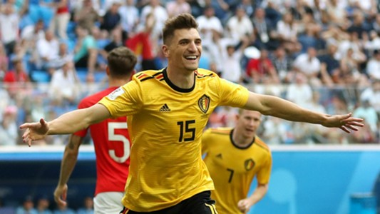 Thomas Meunier Belgium World Cup 2018