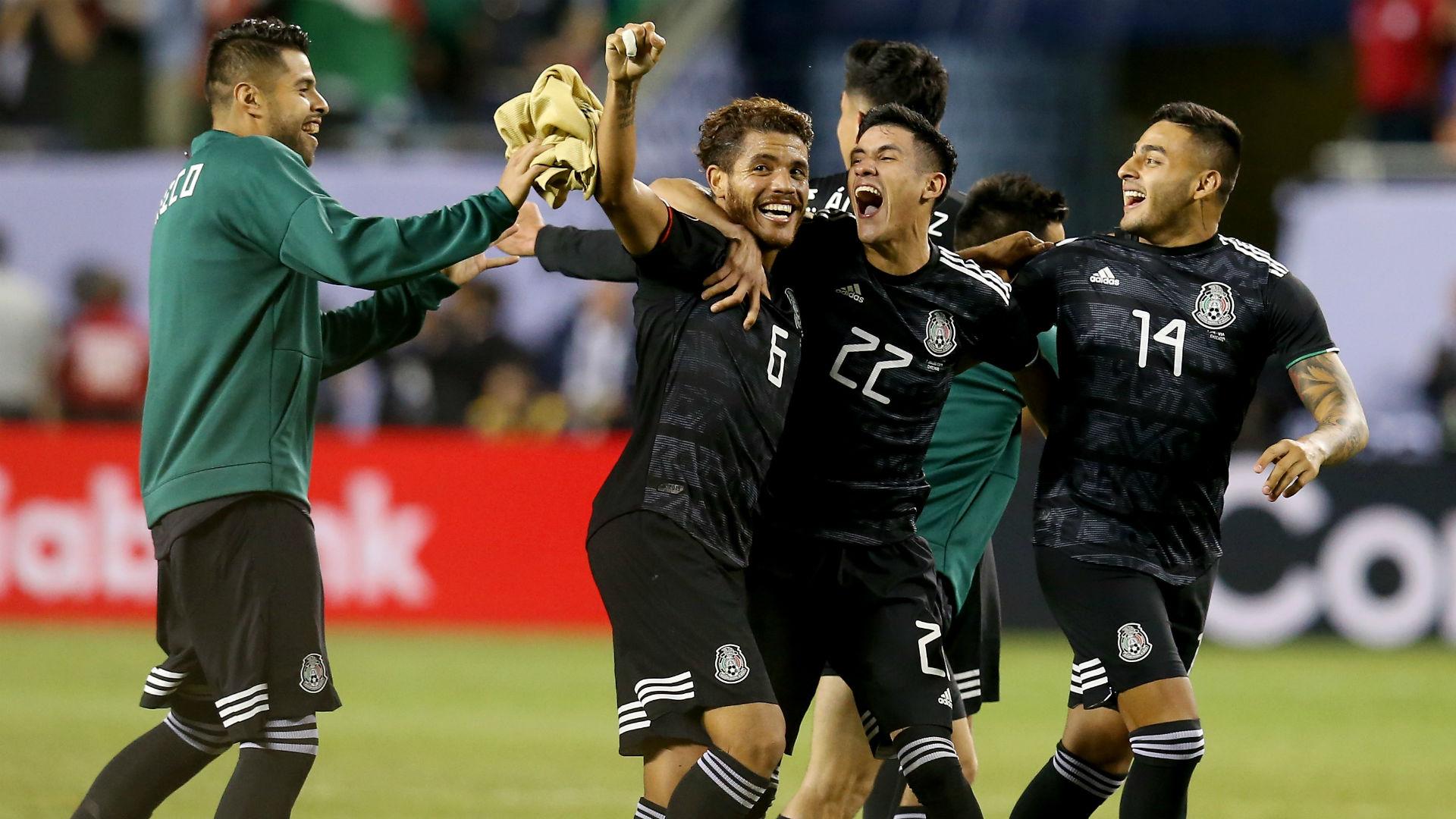 Jonathan dos Santos Mexico USA Gold Cup 2019