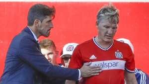 Veljko Paunovic Bastian Schweinsteiger Chicago Fire MLS 070117