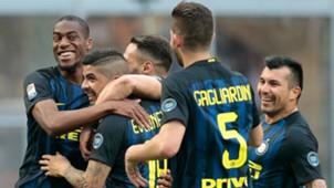 Ever Banega Inter Atalanta Serie A