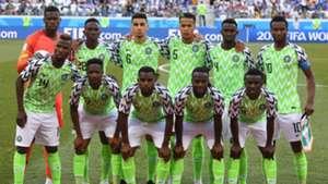 Nigeria vs. Iceland - Starting XI
