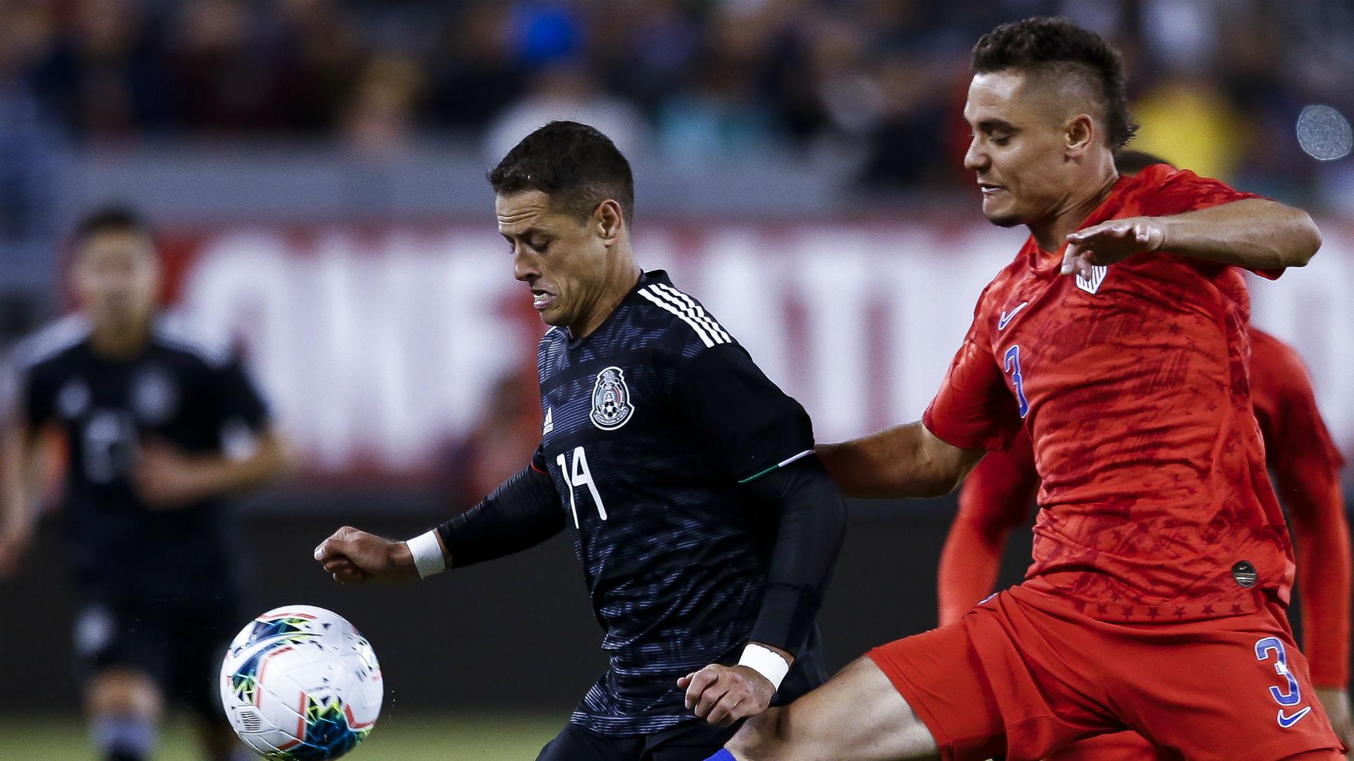 Javier Hernandez Aaron Long United States Mexico