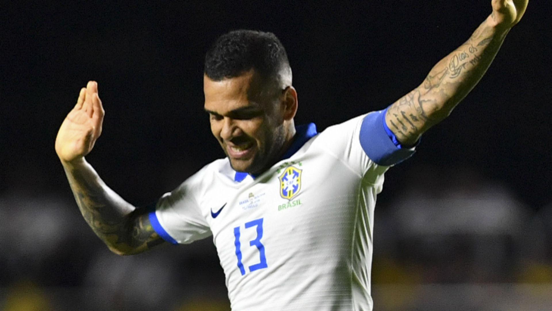Daniel Alves seleção Brasil Copa América 16 06 2019