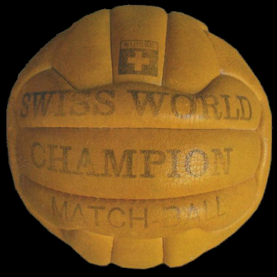 Swiss World Champion 1954 World Cup ball
