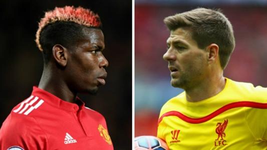 'Pogba is nowhere near Gerrard's level' - Benitez says Man Utd star isn't 'top-class' yet