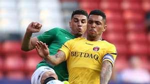 Leon Balogun, Charlton Athletic vs Brighton, Friendly