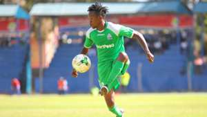 Francis Kahata of Gor Mahia in action.j