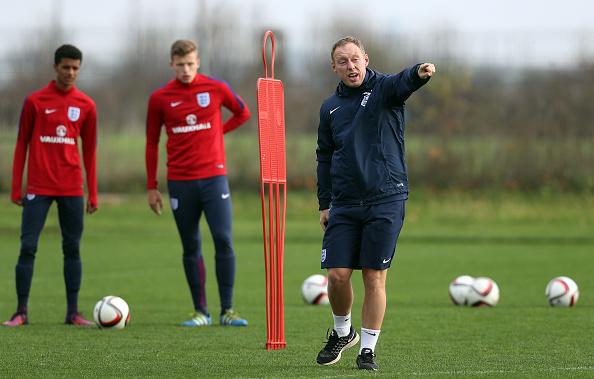 Steve Cooper and England U-17s