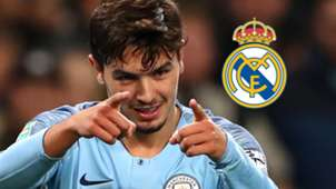 Brahim Diaz, Real Madrid logo