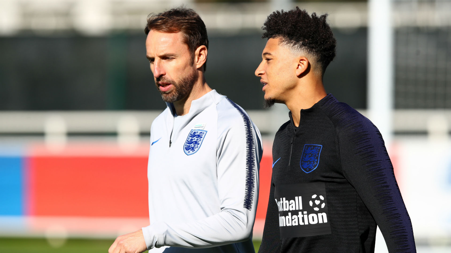 Gareth Southgate, Jadon Sancho, England, St George's Park, National Football Centre