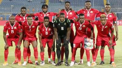 Kenya and Harambee Stars squad.