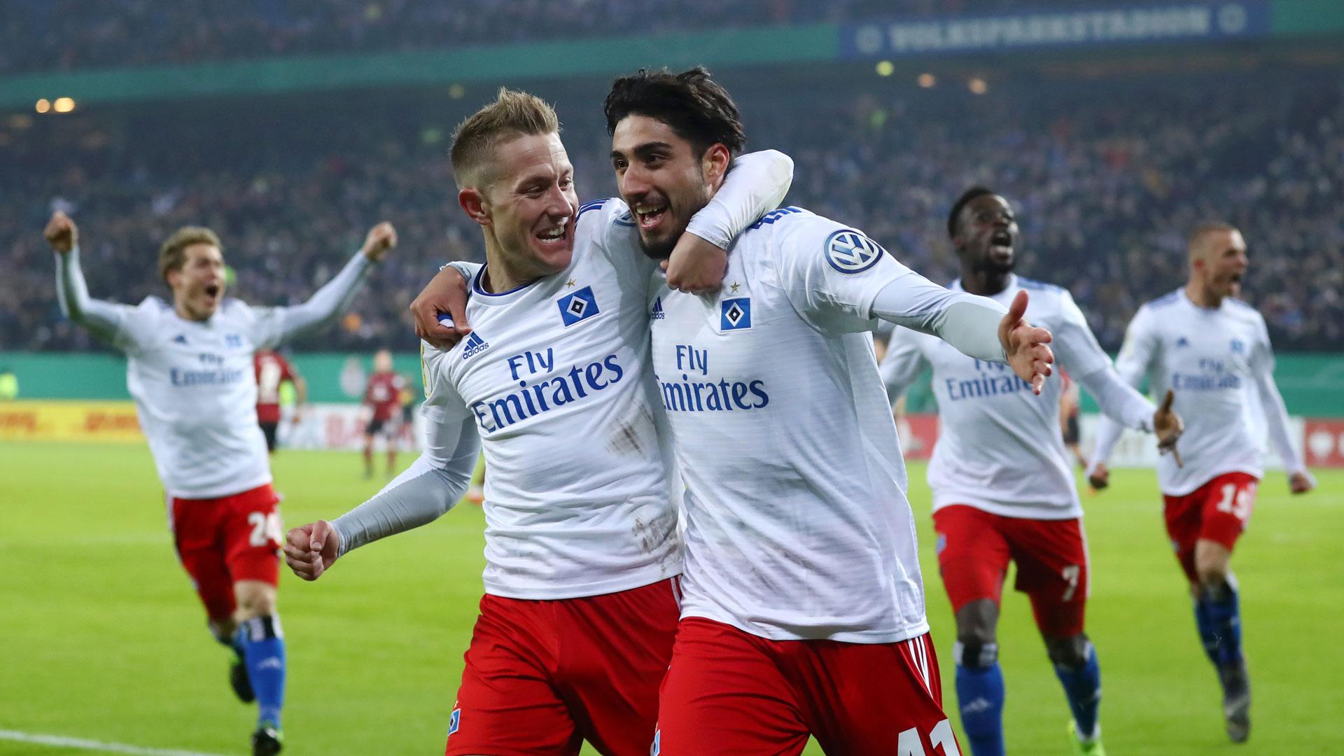 Hamburger SV HSV DFB-Pokal 05022019