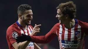 Koke Griezmann Atletico Madrid AS Monaco 28112018