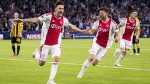 Nicolas Tagliafico Ajax - AEK Champions League 09192018