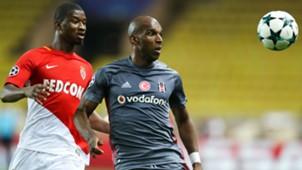 Ryan Babel Almamy Toure Monaco Besiktas UEFA Champions League 17102017