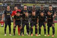 T-Team first eleven against Pahang 27/1/2017