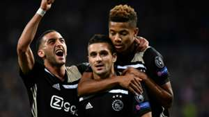 Ajax celebrate 2018-19